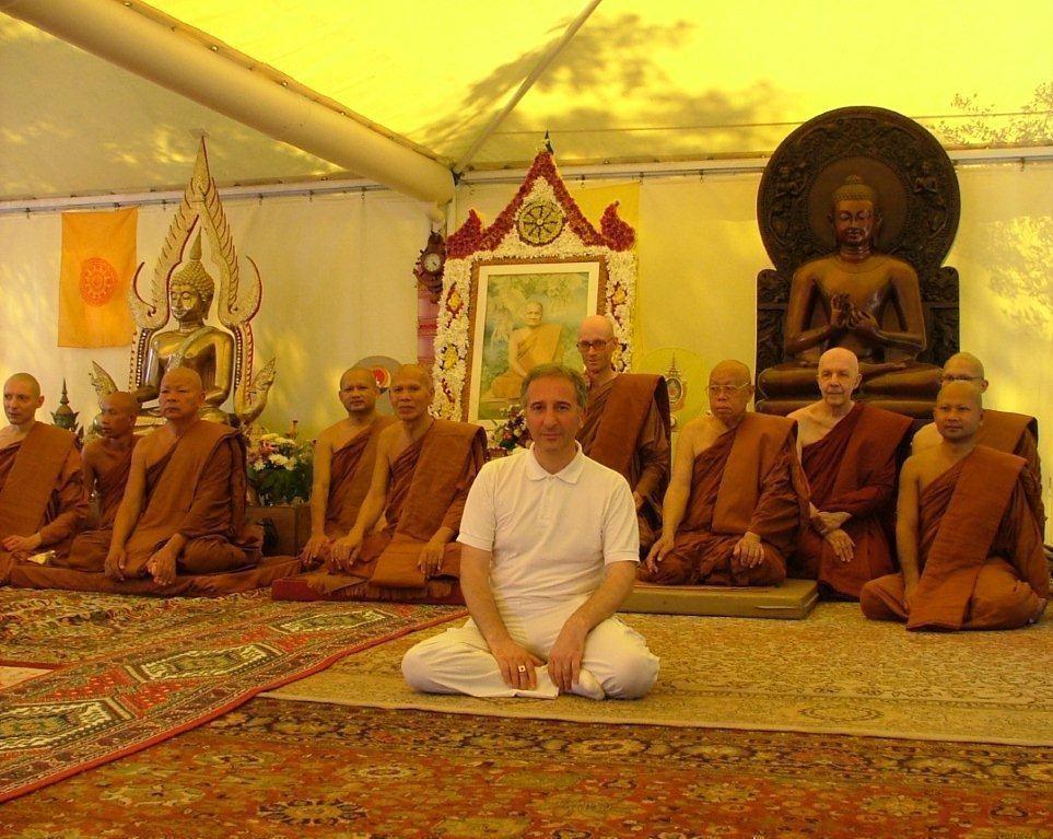Santacittarama - M Thanavaro e Sangha 17 giugno 2012